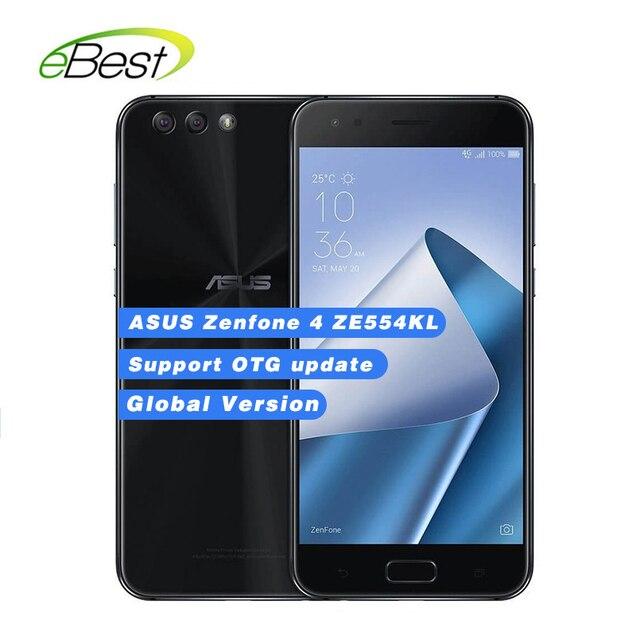 Глобальная версия ASUS Zenfone 4 ZE554KL смартфон 5,5 ''Octa Core Snapdragon 630 4 г оперативная память 64 ГБ Встроенная 3300 мАч NFC Android мобильного телефона