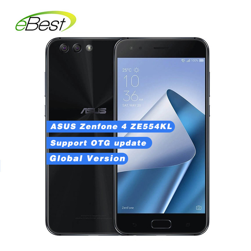Global Version Asus Zenfone 4 Ze554kl Smartphone 5.5'' Octa Core Snapdragon 630 4g Ram 64gb Rom 3300mah Nfc Android Mobile Phone Latest Technology