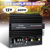 12V 600W Car Audio High Power Amplifier Amp Board Powerful Subwoofer Bass Amp