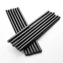 11 мм x 300 черный термоплавкий клей карандаш устойчивость к