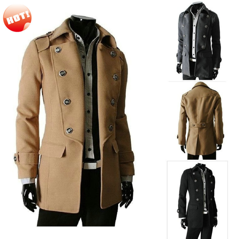 Slim Fit Wool Car Coat - All The Best Coat In 2017