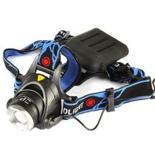 Anjoet CREE XML T6 3800LM Waterproof LED AA Headlight Headlamp Head Lamp Light Adjust Focus For Bicycle Camping Hiking