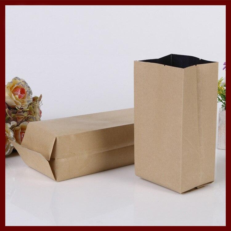9*28 + 7 см 100 шт. крафт-бумага Органы мешок для подарков/чай/Candy/Ювелирные изделия/ хлеб упаковка Бумага мешок еды DIY ювелирные изделия в упаковк...