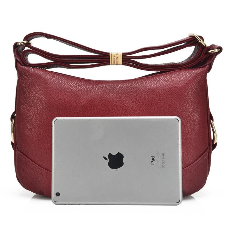 Women\'S Genuine Leather Handbags Luxury Handbags Women Messenger Bags Shoulder Bag Ladies Bolsas