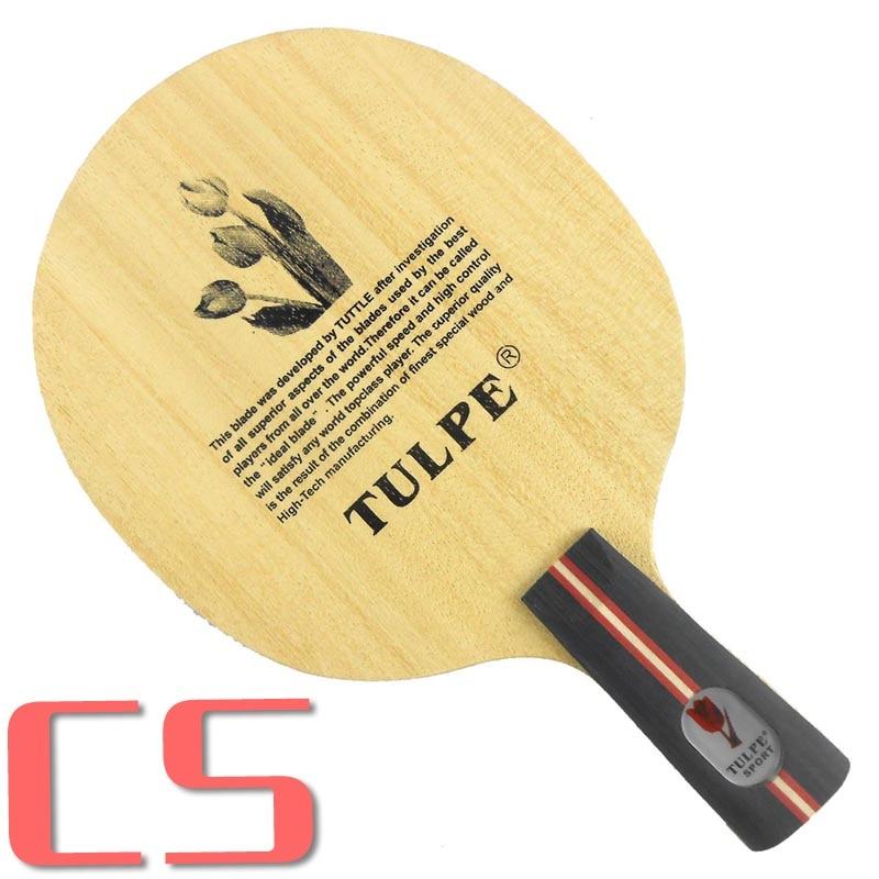 Kokutaku Tulpe T-CARBON-настольный теннис/пинг-понг лезвие - Цвет: CS  short handle