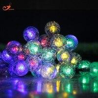 10ledボールライトグローバルホームDecoration165cm 65インチクリスマスパティオランタン花輪ホリデー照明の結婚式の装