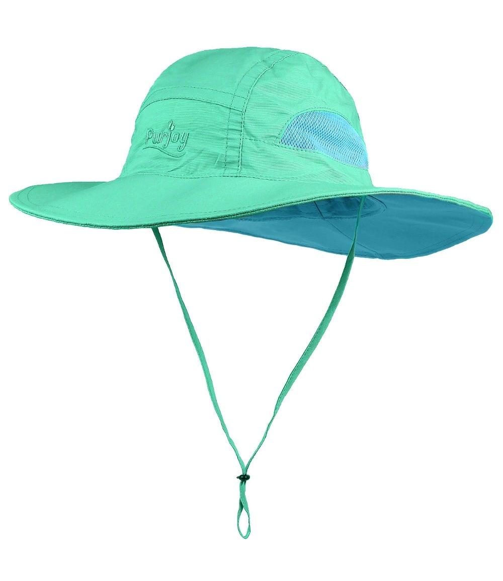 1da824f4 Purjoy Sun Hat for Men & Women, Wide Brim UPF 50+ UV Protection Beach Cap,  Breathable Outdoor Boonie Hats-in Men's Sun Hats from Apparel Accessories  on ...