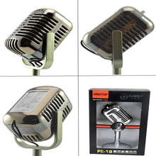 FE-18microphone Computer karaoke equipment Capacitance restoring Computer /conference/ Karaoke Microphone fashionable microphone r8 m06 net chat network microphone computer karaoke microphone silver 3 5mm plug 192cm cable
