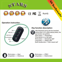 Wholesale Free Drop Shipping Wireless Bluetooth Music Audio Adapter Receiver 3 5mm Stereo Connector For IPhone