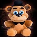 """1 PC 25 CM FREDDY URSO 9.8 """"cinco Noites na FNAF do Freddy Freddy Foxy Bonnie Chica Brinquedos Infantis Animais Bonecos de Pelúcia Bichos de pelúcia"""