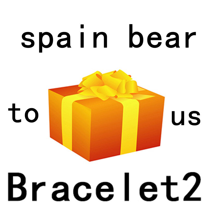 BRACELET 2 NEW Store Event Exit Spree To Send Gifts Randomly 100% 925 Sterling Silver Bracelet 2 Spain Bear Jewelry GiftBRACELET 2 NEW Store Event Exit Spree To Send Gifts Randomly 100% 925 Sterling Silver Bracelet 2 Spain Bear Jewelry Gift