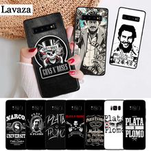 Lavaza Narcos Pablo Escobar Silver Or Lead Silicone Case for Samsung S6 Edge S7 S8 Plus S9 S10 S10e Note 8 9 10 M10 M20 M30 M40