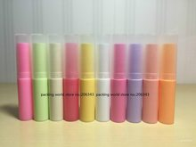 4G 10 colors plastic PP tube fo lip gloss/lip color/ lip stick/lip wax container can be used for cosmetic packing
