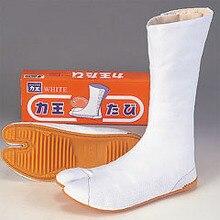 Высококачественная традиционная обувь для самураев ниндзя Rikio Fighter. Белые Jikatabi Tabis оружие ниндзя. Сделано в Японии. Бесплатная доставка.(China (Mainland))