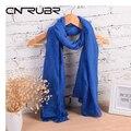 New Fashion Winter Pure Women Scarf  Long Cotton Candy Colors Shawl 18 Colors Warm Soft Women Muffler