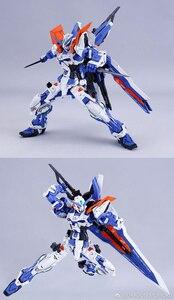 Image 5 - DRAGON_MOMOKO דגם 1/100 MG כחול מבולבל 2 סוג L כחול כפירה סוג 3 יכול להיות מוחלף Gundam פעולה איור קישוט ילדים צעצוע