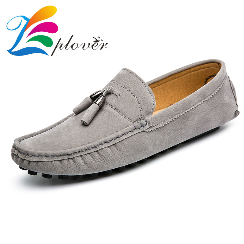Zplover 2017 New Men Shoes Casual Fashion Mens Loafers Leather Flats Zapatos Hombre Casual Shoes Men's Loafers Sapato Masculino lowrance elite 3x dsi