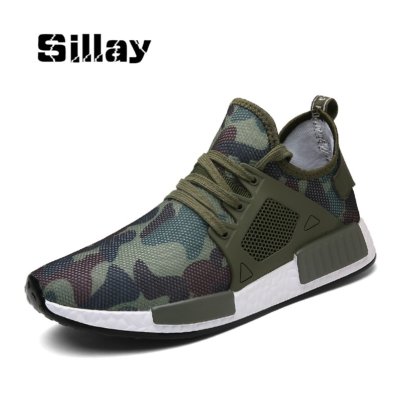 Outdoor Military Camouflage Men Shoes 2018 Summer Fashion Krasovki Army Green Trainers Zapatillas Deportivas Hombre High Quality