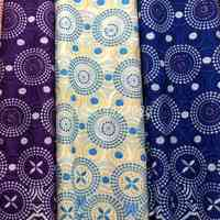 New Cycle designs African Fashion Stones Swiss Cotton Lace Fabric Embroidery Mesh Flowers Lace Good Quality Cotton Lace Fabric