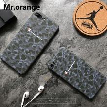 CHAMPION Camouflage Phone Case iPhone 6 6s Plus 7 7 Plus 8 X XR XS Max