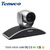 Tenveo 1080 P 720 P USB Sala de Vídeo Conferência PTZ Câmera com 10x Zoom Óptico 360 Rotação Suporte Skype, MSN, Wechat, whatsapp