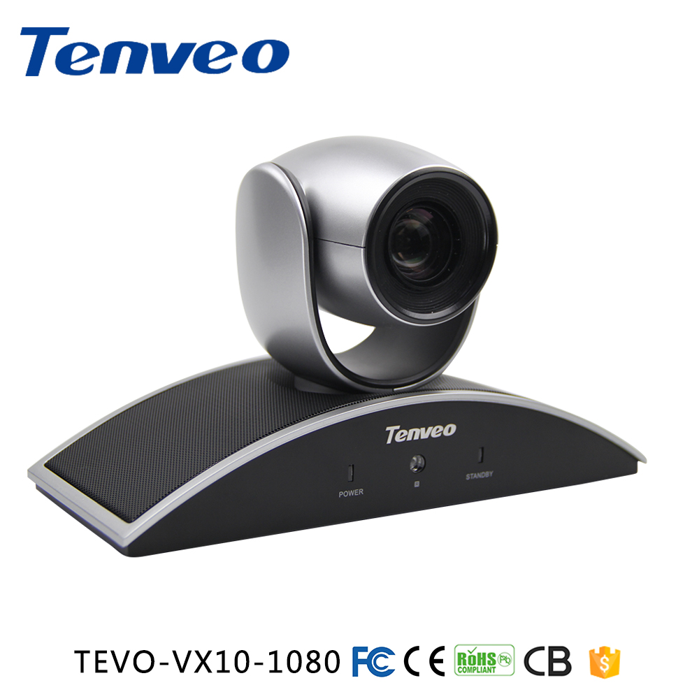 Tenveo 1080P 720P USB PTZ Video Conference Room Camera with 10x Optical Zoom 360 Rotation Support Skype,MSN,Wechat, whatsapp dannovo 1080p 720p usb ptz video conference room camera 10x optical zoom 360 rotation support skype msn lync
