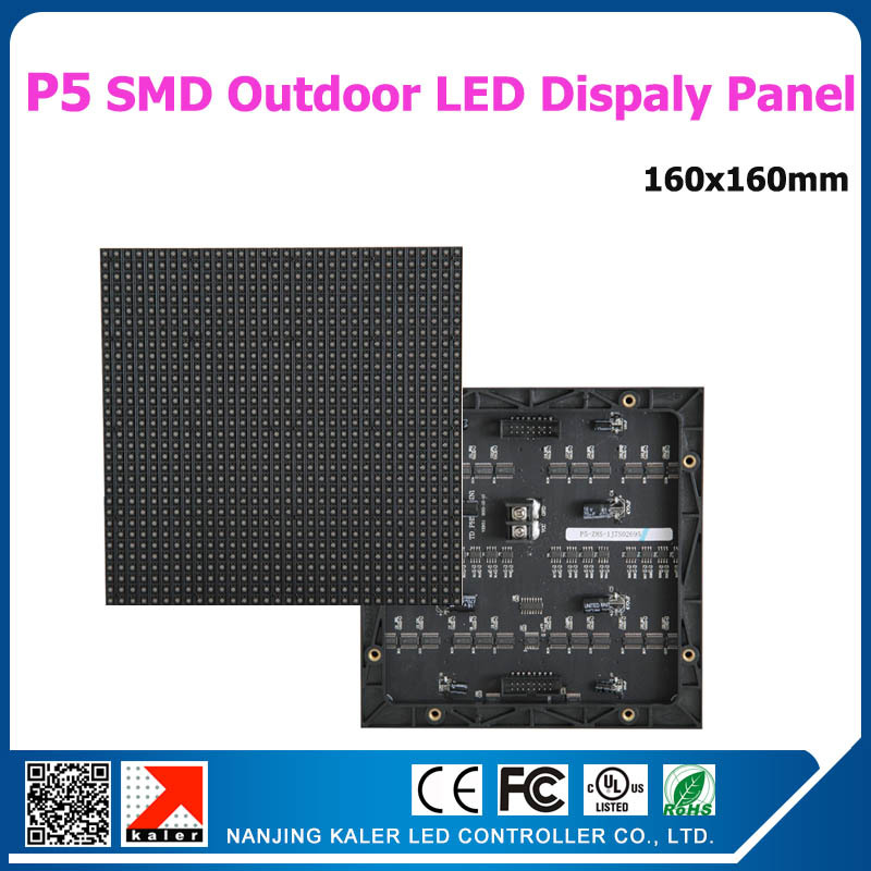 TEEHO 36pcs A Lot Outdoor P5 Led Display Module High Nrightness 3in1 RGB Panel Full Color Outdoor Waterproof P5 Led Modules