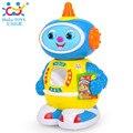 Kids Toy Robot Espacial Bump and Go Acción Luces Música y toneladas de Diversión Aprendizaje Temprano Caminar Robot Music Light Regalo para 12 M + bebé