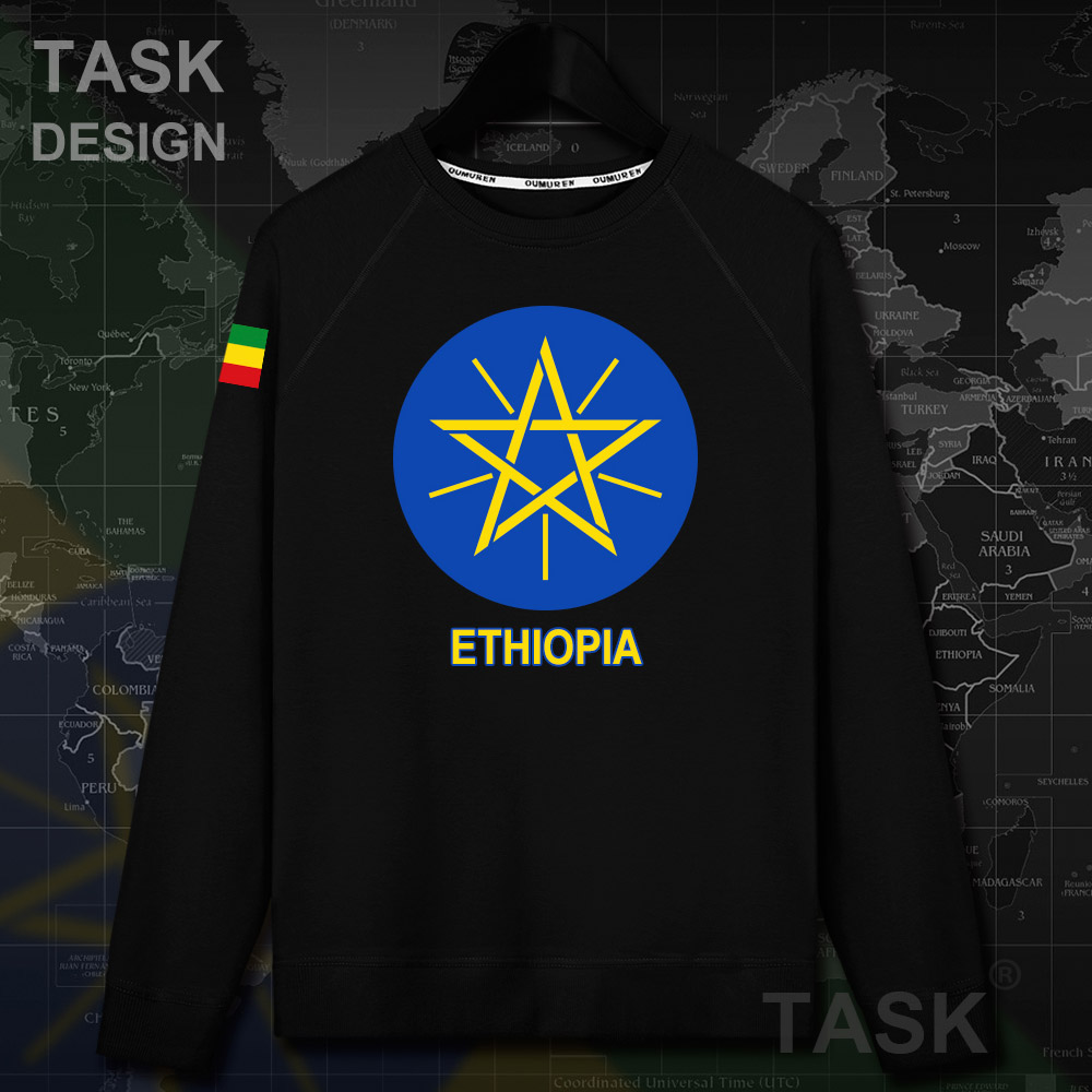 Ethiopia Ethiopian Horn of Africa ETH ET men nation hoodie pullovers hoodies sweatshirt streetwear Autumn tracksuit clothes 20