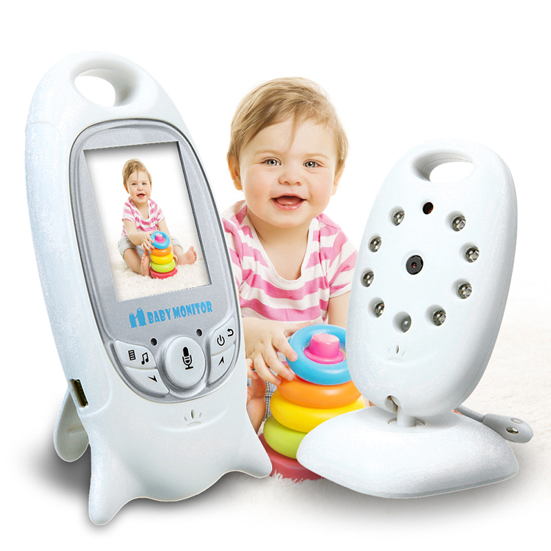 Wireless Video 2.0 inch Color Baby Monitor Security Camera 2 Way Talk NightVision Baba Eletronica Noturna With 8 Lullabies Nanny