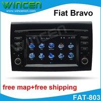 6,2 Автомобильный dvd плеер для Fiat Bravo с 3D меню Многоязычная поддержка бортового компьютера Горячая продажа Бесплатная доставка + карта