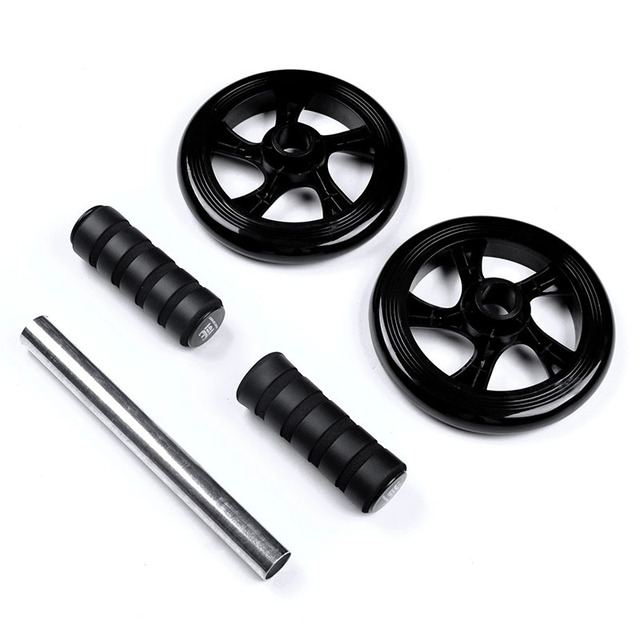 4 colors Ab Roller Fit Wheels No Noise With Mat For Exercise