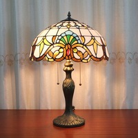 Manufacturers Selling Customized European Garden Home Furnishing Glass Model Room Study Bedroom Bedside Lamp