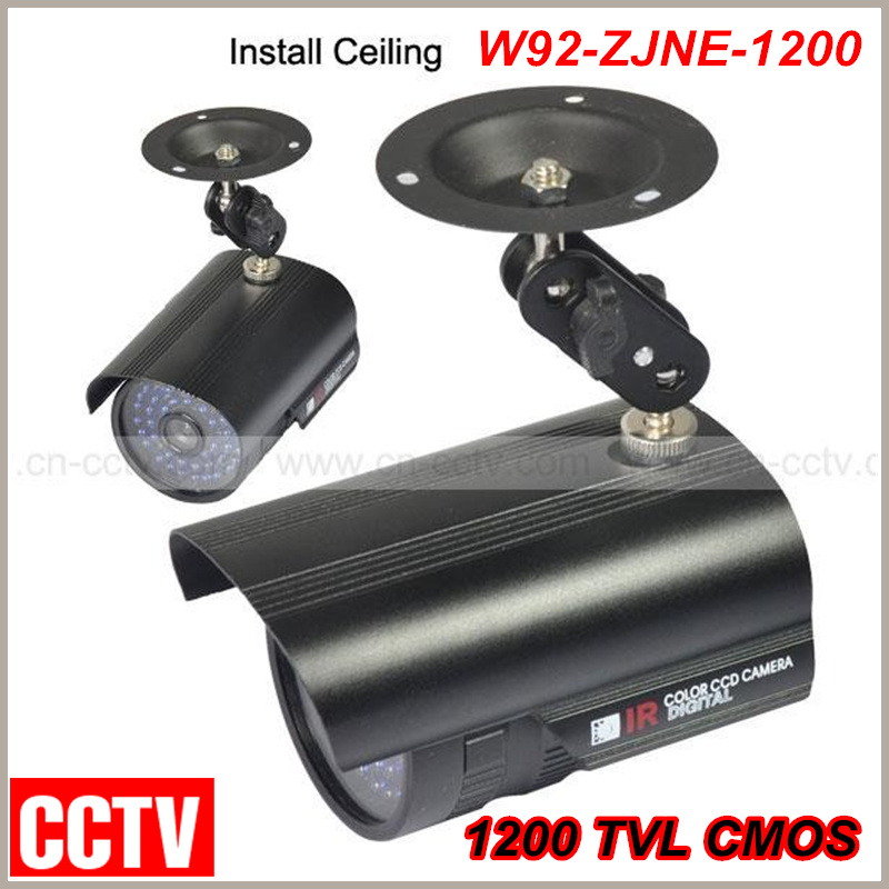 New Hot selling!Outdoor Sony CCD 36IR LED CCTV Bullet Camera 1200 TVL CMOS Surveillance Camera Free shipping wistino cctv camera metal housing outdoor use waterproof bullet casing for ip camera hot sale white color cover case