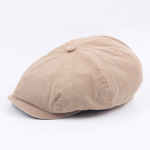 Father Gift Male Newsboy Octagonal Caps Summer Men Women Casual Solid Color Ivy Flat Cap Men Fashion Classic Berets Flat Sun Hat