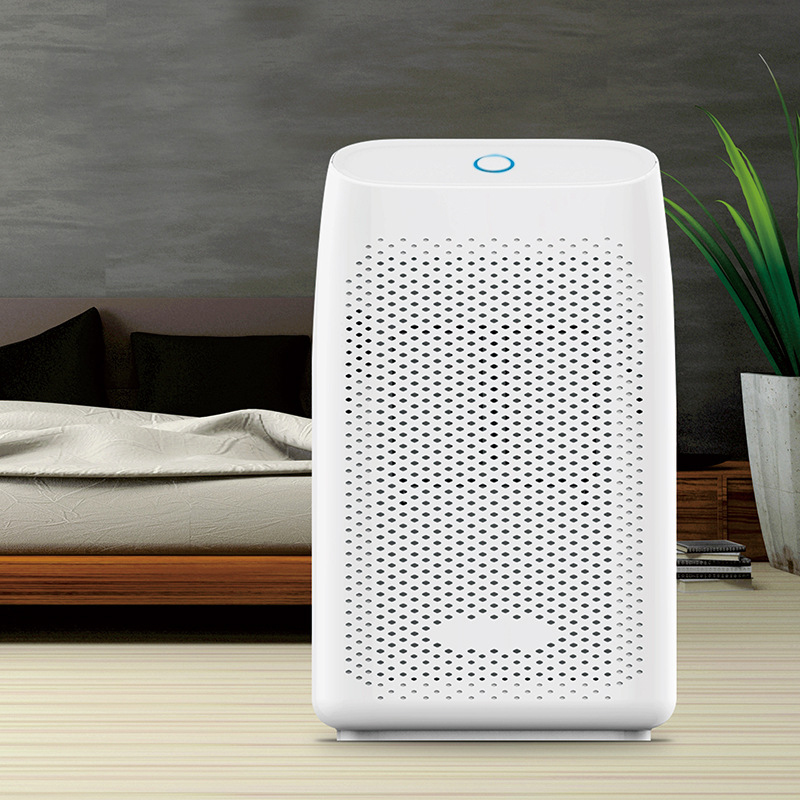 T8 700ml Home Portable Air Dehumidifier Semiconductor Desiccant Moisture 300ml/day Household Office Warehouse Drying Machine