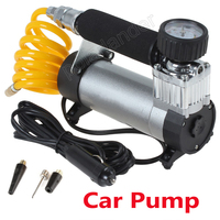 High quality 100PSI Air Compressor 12V Auto Super Flow Tire Inflator Car Pump Portable