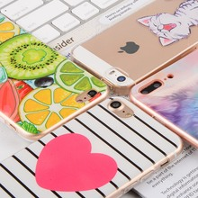 Cute Animal Soft Silicone TPU Cases For Apple iPhone