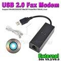 Usb 2.0 56Kbs внешний V.92 90 циферблат вверх голос факс-модем данных с телефон RJ11 кабель поддерживает windows XP Vista , Win 7 Linux