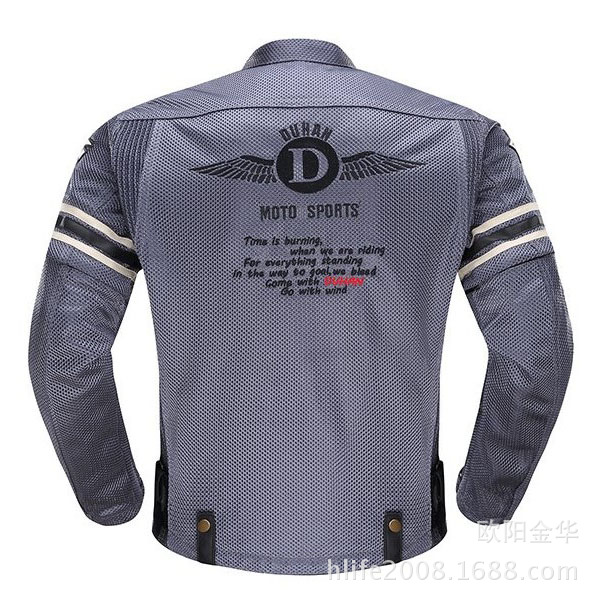 2017 NEW DUHAN D-103 Motorcycle Jacket summer Riding suit Sleeve can disassembled Wear-resisting Mesh Shock Free shipping 2013 new style red mens motorcycle jacket motorbike riding jacket suit with size s to xxxl free shipping