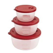 Circular microwave sealed preservation box Sealed container 3pcs free shipping