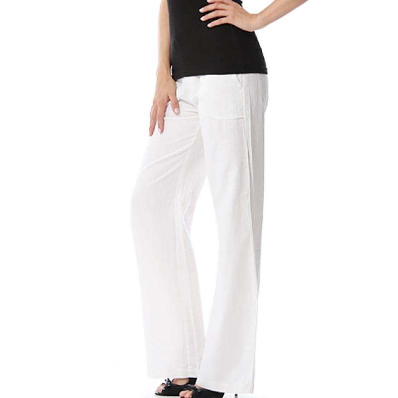 Plus Size Sleep Bottoms Women Elastic Waist Casual Lounge Pants Home Pajama Bottoms Loose Pyjamas Long Pants With Pockets 2215