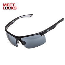 MEETLOCKS Sports Sunglasses, PC Frame,100%UV400 Protection,Suit For Various Sports, Cycling, Hiking