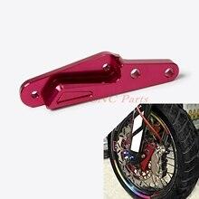 Cheap price NICECNC 320MM Brake Caliper Bracket Adapter For Honda CR125R/E CR250R/E 04-08 CRF250R CRF450R 04-14 CRF450X 04-15 CRF250X 04-12