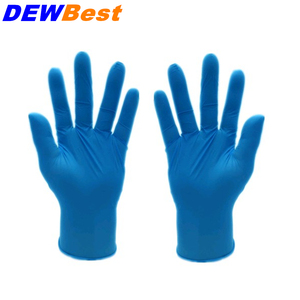 Image 3 - DEWBest Free shipping high quality Black Nitrile Gloves Disposable Nitrile Oil and Acis Wholesale Industrializationd Latex Glove