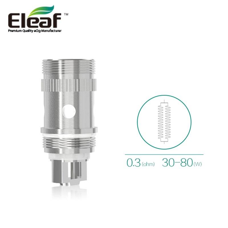 5 Unids / lote Eleaf ijust S EC Coil 0.5ohm 0.3ohm Ti Ni ijust 2 - Cigarrillos electrónicos
