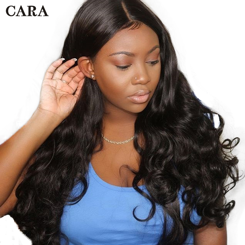 Body Wave Wig Pre Plucked Glueless Full Lace Human Hair Wigs With Baby Hair 130% Brazilian Full Lace Wig Human Remy Hair CARA
