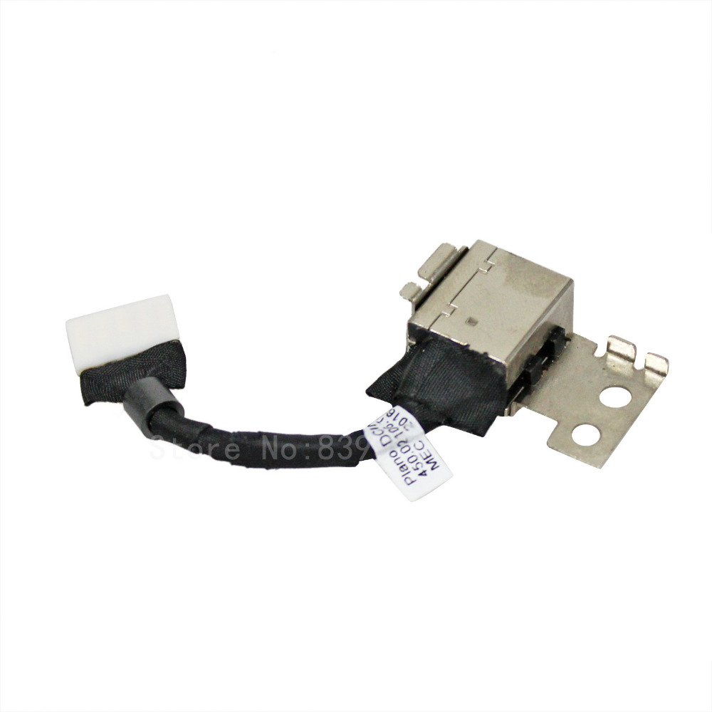 Cable Length: 2 PCS Computer Cables 1-10PCS New DC Power Jack Charging Port Socket Connector for Dell Latitude 11 3150 3160 DC Jack with Cable