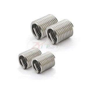 Image 4 - 70 adet gümüş M2 M12 paslanmaz çelik iplik kol diş tamir takma takımı seti paslanmaz çelik donanım tamir araçları