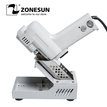 ZONESUN 110V 220V Electric Vacuum Desoldering Pump Solder Sucker Gun Heating Core Suction Tin S-993A Torch Core Iron Core 90W